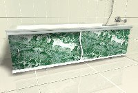 установка экрана в ванной в Новосибирске