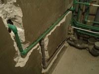 перенос труб на кухне Новосибирск